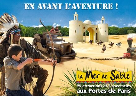 La mer de sable - детский парк, Детские парки во Франции