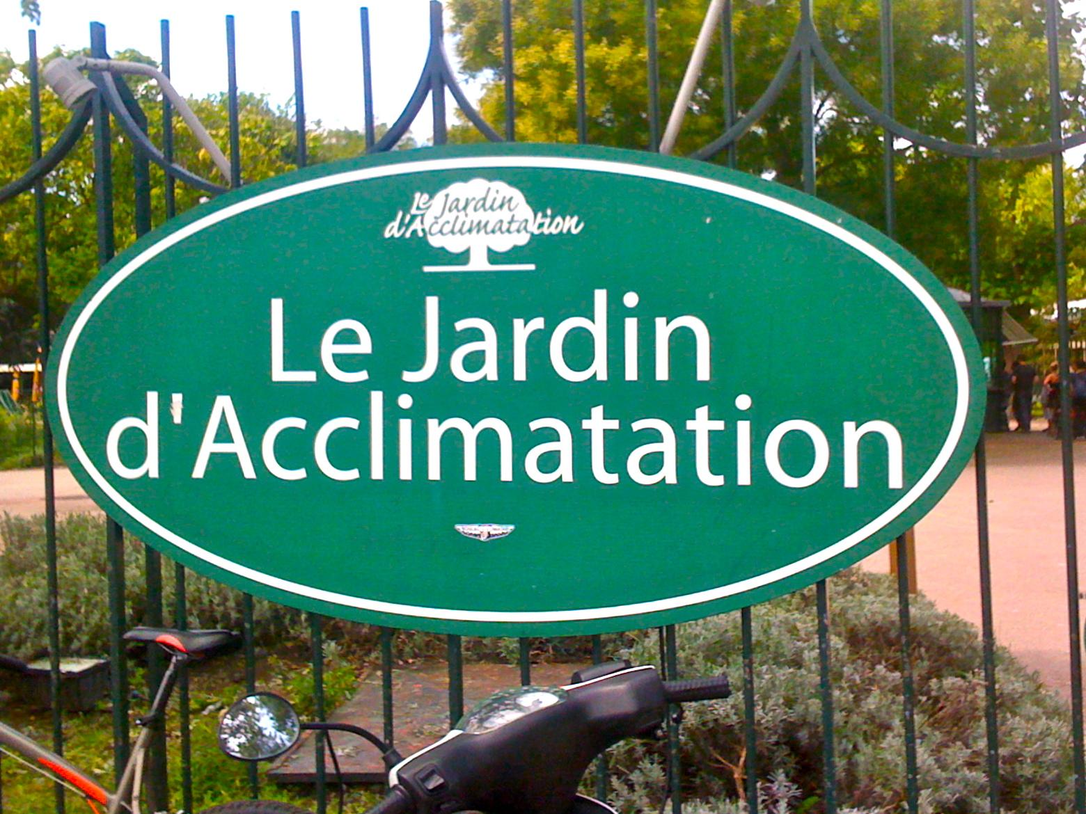 Image gallery jardin acclimatation for Au jardin d acclimatation