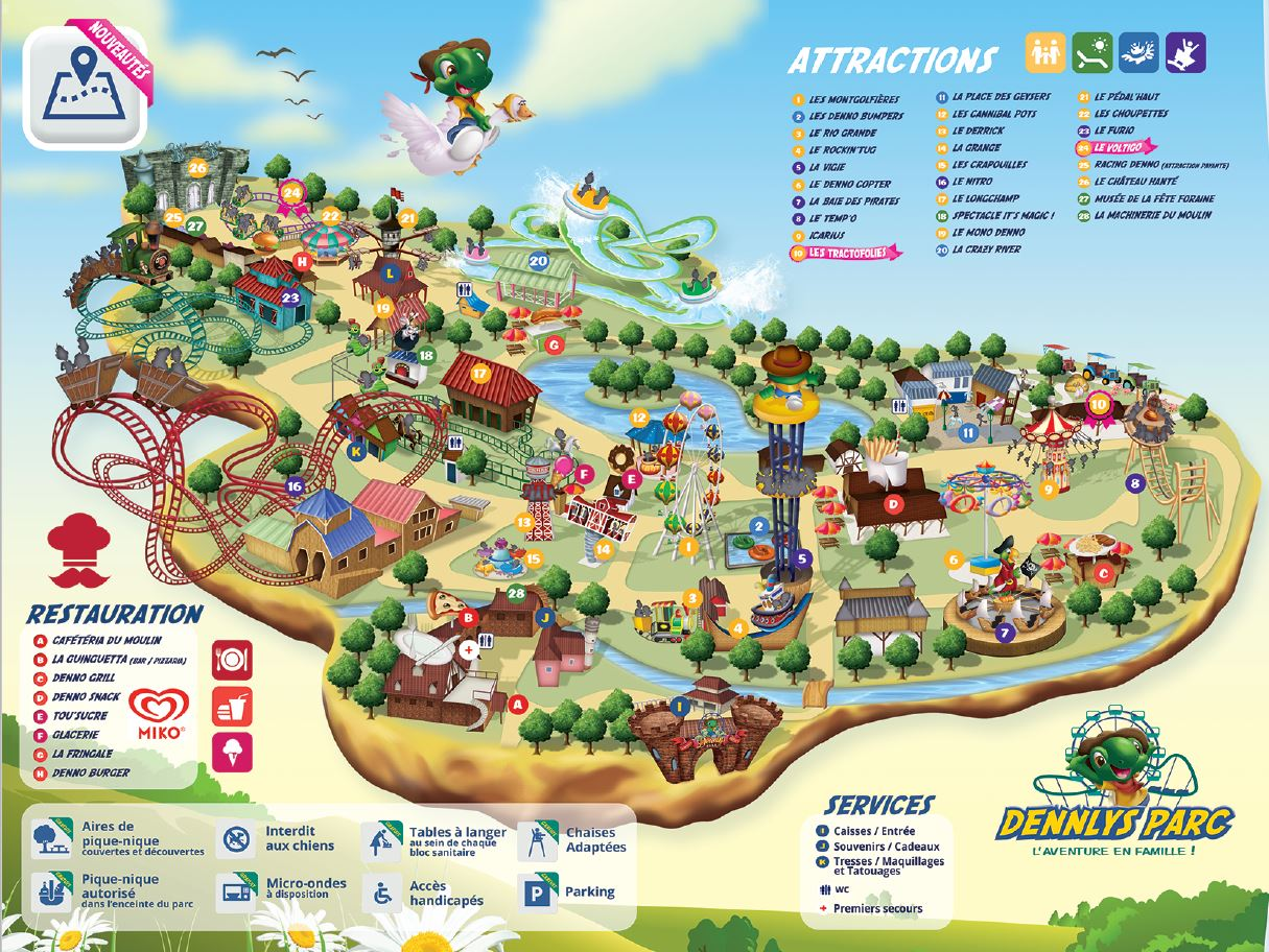 Dennlys Parc Parc D Attraction Saint Omer Proxifun