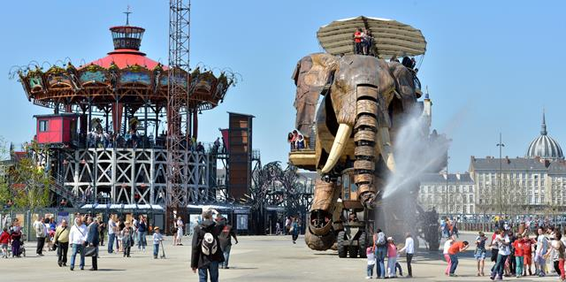 Grand Elephant Les Machines de l'ile