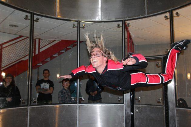 Fly Zone, Simulateur de chute libre