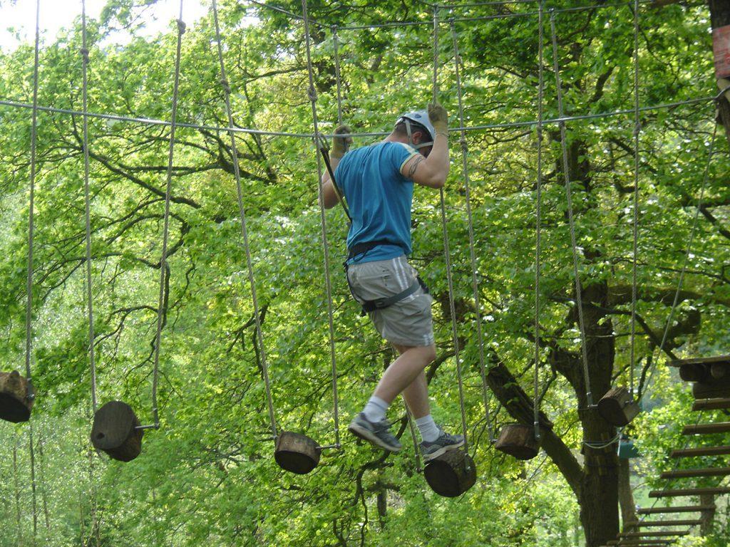 karaez-adrenaline; ¨Parc accrobranche en Bretagne