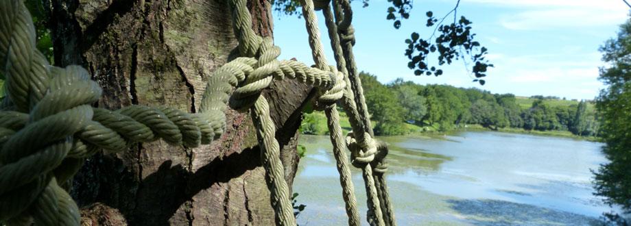 lac aux branches, parc accrobranches Bordeaux